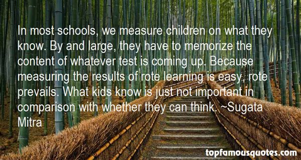 Quotes About Measuring Results