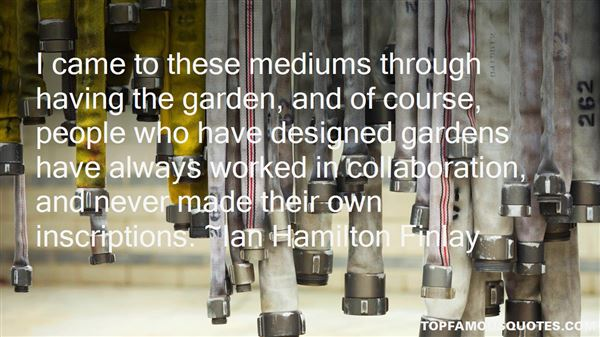 Quotes About Mediums