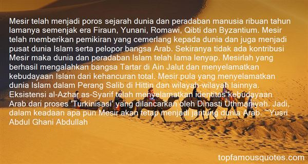 Quotes About Mesir