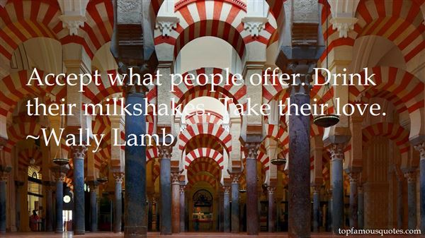 Quotes About Milkshake