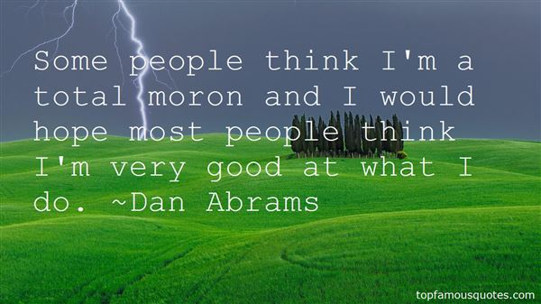 Quotes About Moron