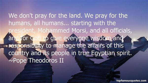 Quotes About Morsi