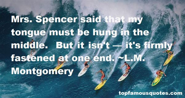 Quotes About Mr Spencer