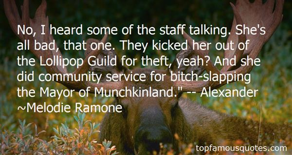 Quotes About Munchkinland