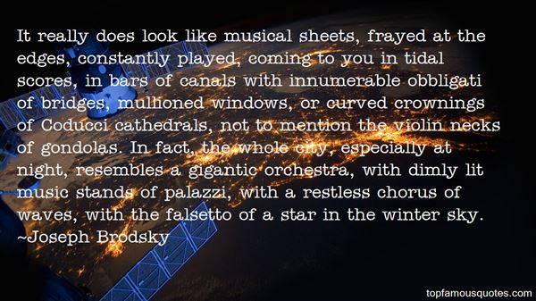Quotes About Musical Scores