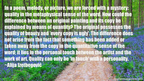 Quotes About Mystery And Beauty