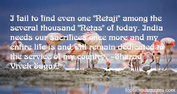 Quotes About Netaji