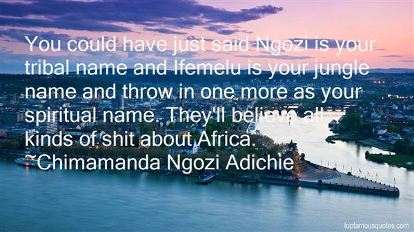 Quotes About Ngozi