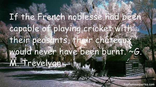 Quotes About Noblesse