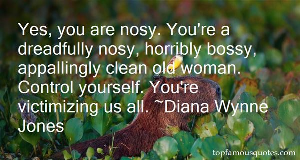 Quotes About Nosy Woman