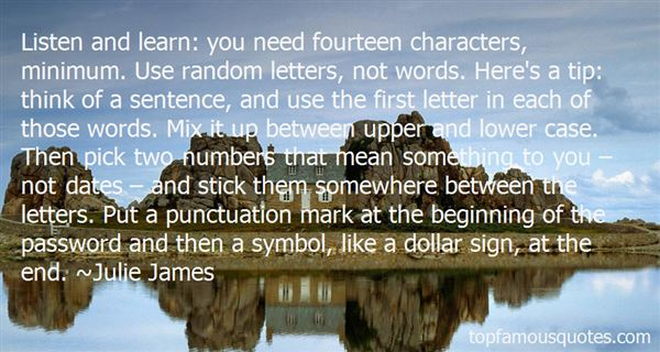 Quotes About Numbers And Letters