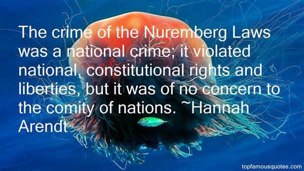 Quotes About Nuremberg Laws
