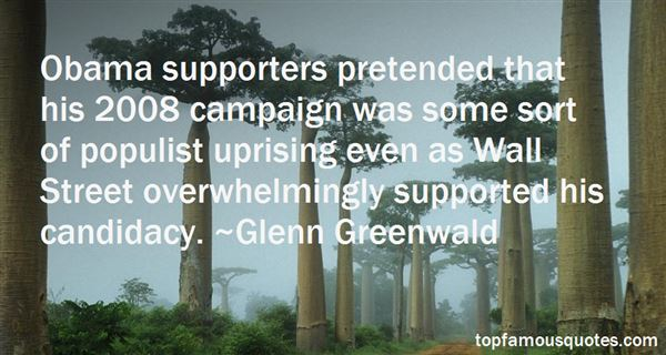 Quotes About Obama Supporters