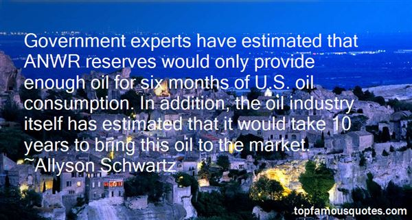 Quotes About Oil Consumption