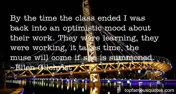 Quotes About Optimistic Work