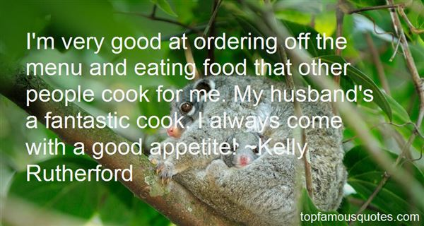 Quotes About Ordering Food