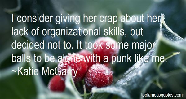 Quotes About Organizational Skills
