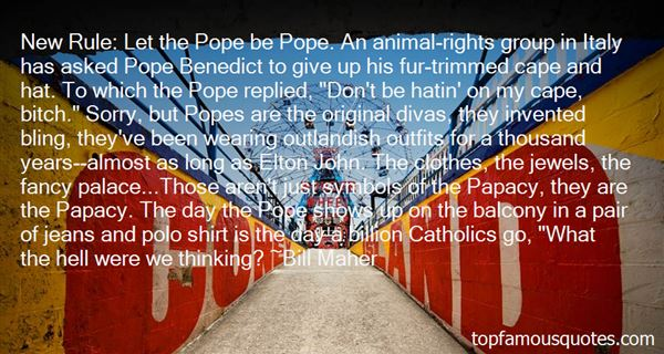 Quotes About Papacy