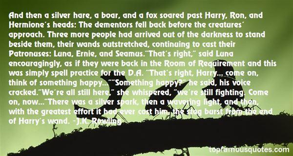 Quotes About Patronus