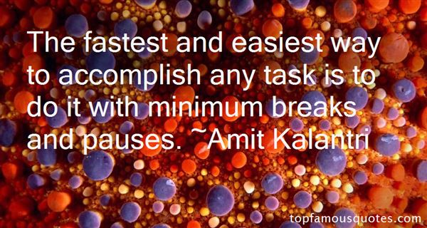 Quotes About Pauses
