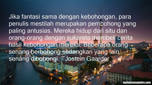 Quotes About Pembohong