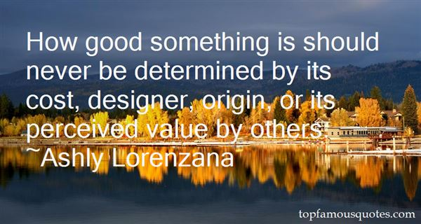 Quotes About Perceived Value