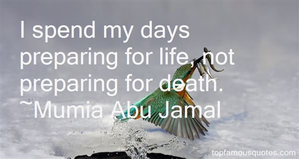 Quotes About Preparing For Death
