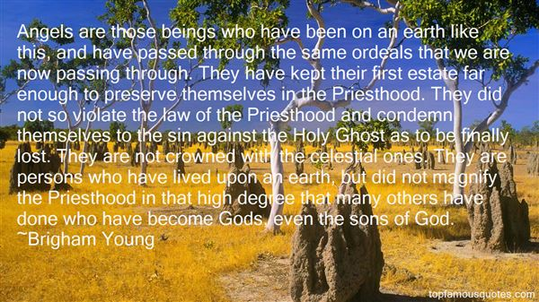 Quotes About Priesthood