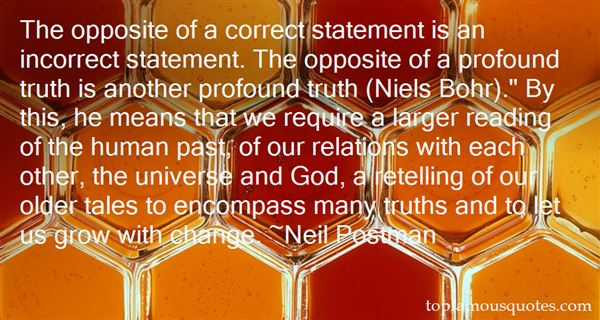 Quotes About Profound Truth