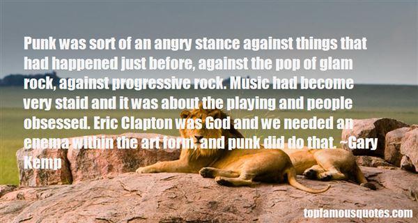 Quotes About Progressive Rock