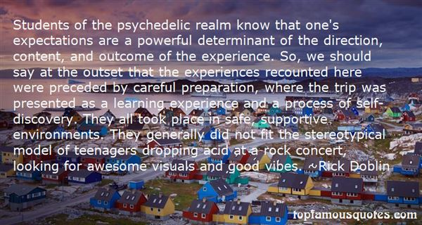 Quotes About Psychedelic Rock
