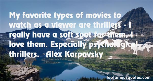 Quotes About Psychological Thrillers