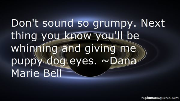 Quotes About Puppy Dog Eyes