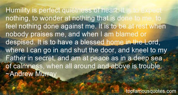 Quotes About Quietness Of Heart
