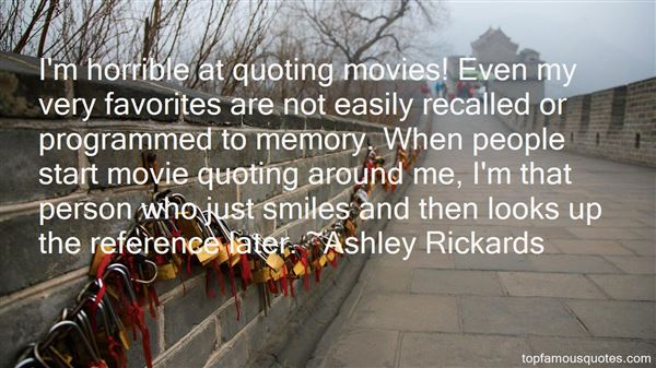 Quotes About Quoting Movies
