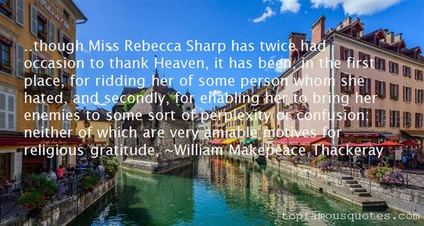 Quotes About Rebecca