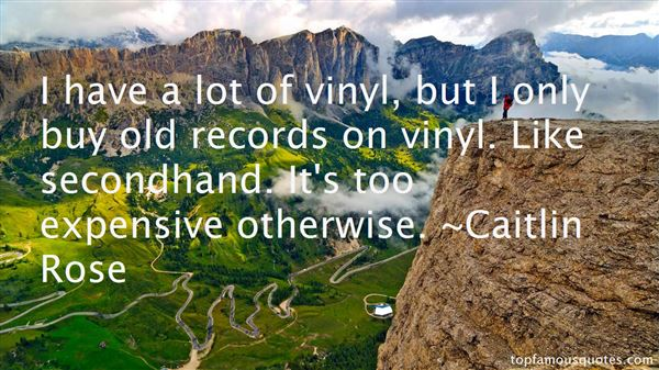 Quotes About Records Vinyl