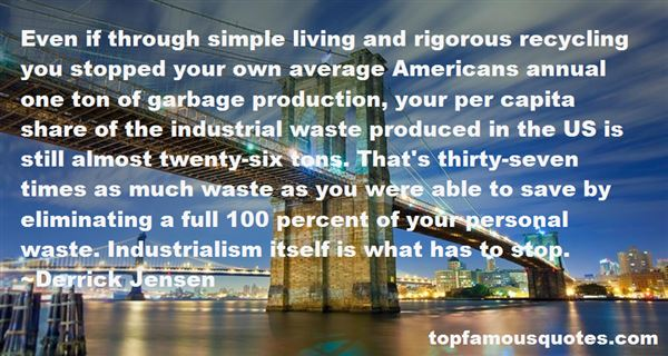 Quotes About Recycling Waste