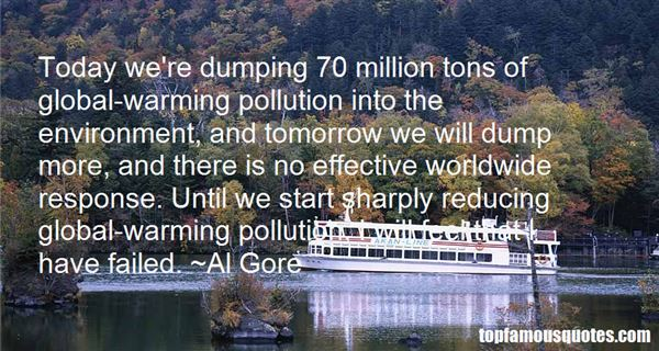 Quotes About Reducing Pollution