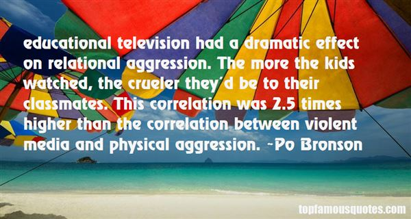 Quotes About Relational Aggression