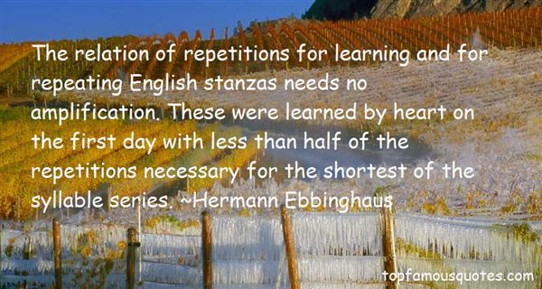Quotes About Repeating