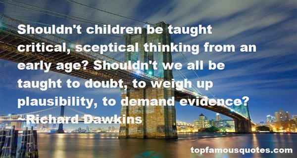 Quotes About Sceptic