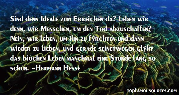 Quotes About Schaffen