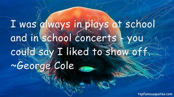 Quotes About School Concerts