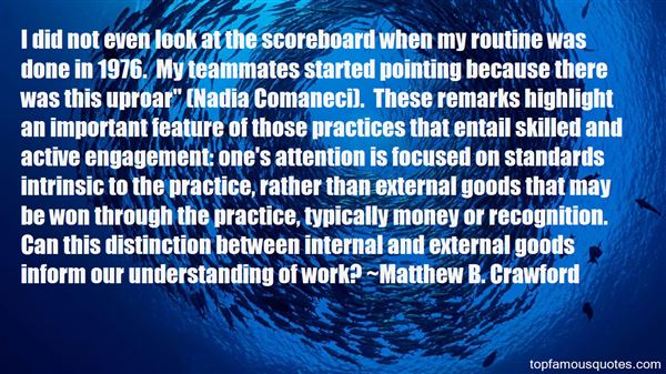 Quotes About Scoreboard