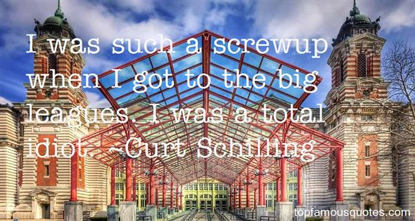 Quotes About Screwup
