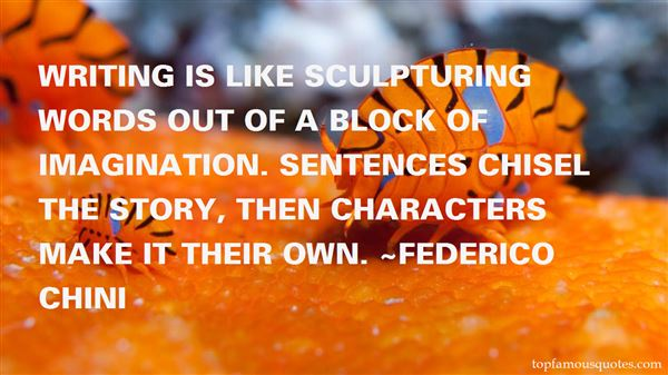 Quotes About Sculpturing