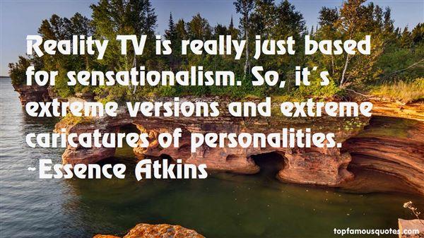 Quotes About Sensationalism