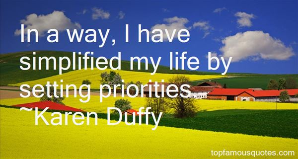 Quotes About Setting Priorities