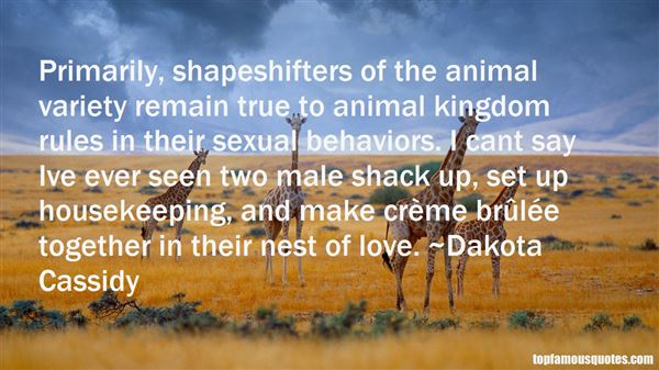 Quotes About Shapeshifters